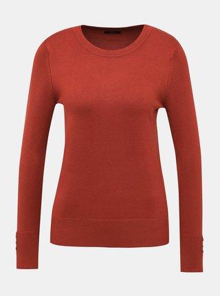 Tehlový sveter M&Co