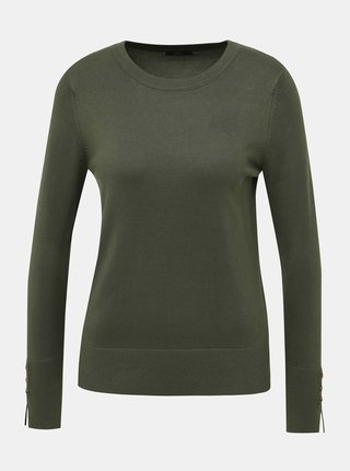 Khaki svetr M&Co
