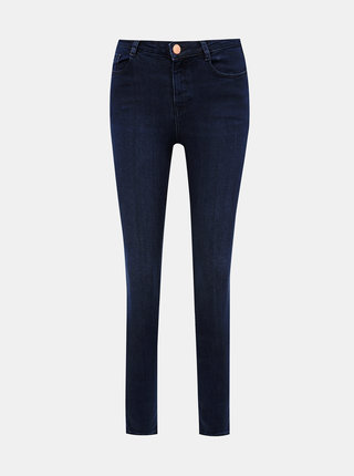 Tmavomodré skinny fit rifle Dorothy Perkins Shape & Lift