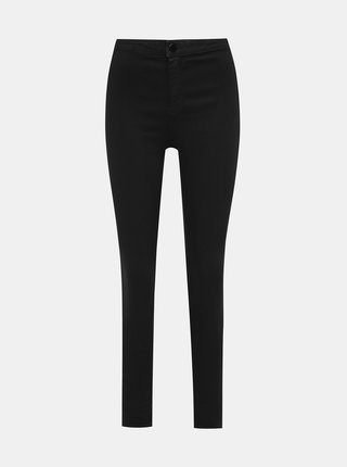 Čierne skinny fit rifle Dorothy Perkins Lyla