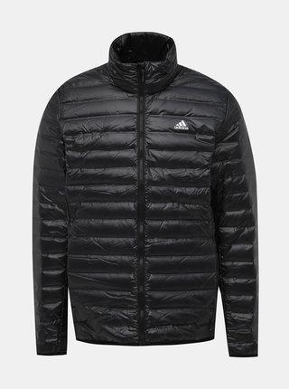 Čierna pánska vodeodpudivá páperová bunda adidas Performance Varilite