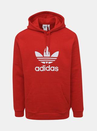 Červená pánska mikina adidas Originals