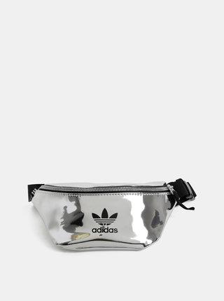 Ledvinka ve stříbrné barvě adidas Originals