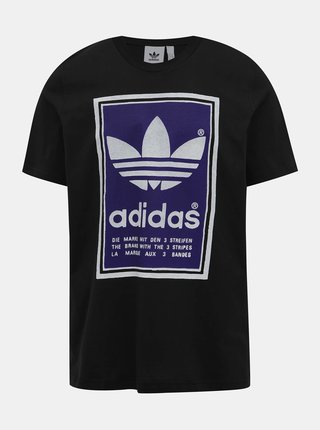 Čierne pánske tričko adidas Originals
