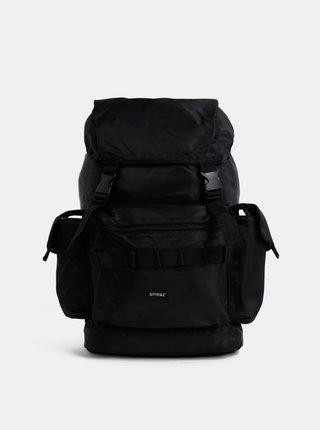 Černý batoh Spiral Trucker