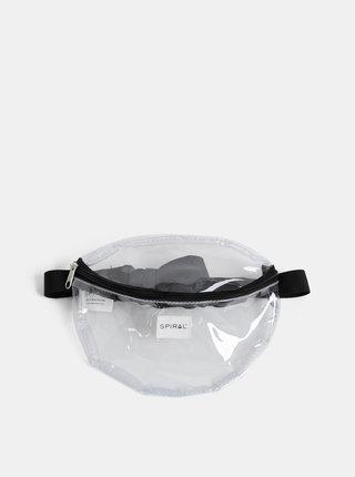 Transparentní ledvinka Spiral Platinum