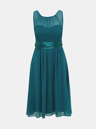 Petrolejové šaty Dorothy Perkins