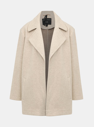 Béžový lehký kabát Dorothy Perkins