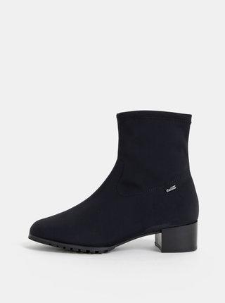 Čierne vodeodolné kotníkové topánky Högl