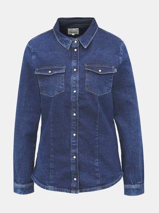 Modrá rifľová košeľa ONLY Rock