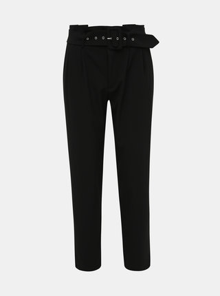 Černé kalhoty ONLY Rossy