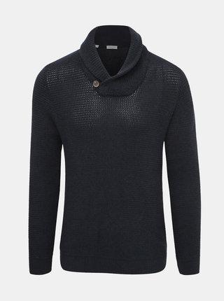 Tmavomodrý sveter Selected Homme Richard