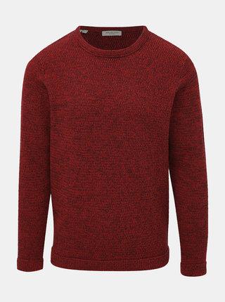 Červený basic sveter Selected Homme Victor