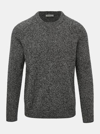 Šedý vlněný svetr Selected Homme Newcoban