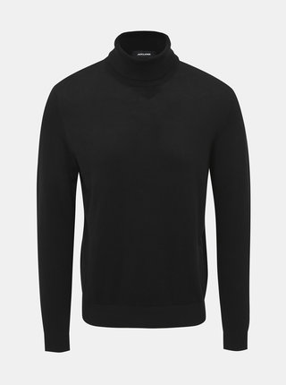 Černý basic rolák Jack & Jones Emil