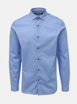 Světle modrá slim fit košile Jack & Jones Sander