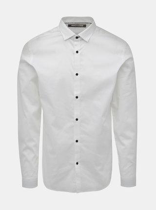 Biela slim fit košeľa Jack & Jones Sander