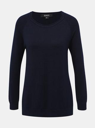 Tmavě modrý dámský basic svetr ZOOT