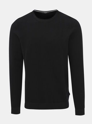 Černý basic svetr Jack & Jones York
