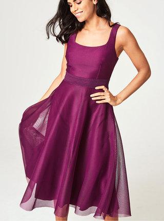 Fialové šaty Little Mistress