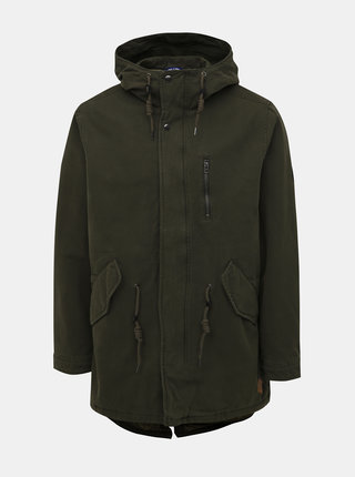 Khaki parka Jack & Jones Beck