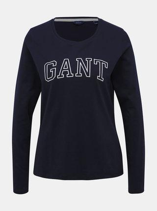 Tmavě modré dámské tričko GANT