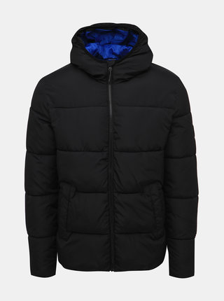 Čierna prešívaná bunda Jack & Jones Knight