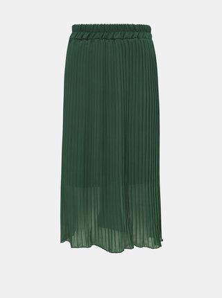 Zelená plisovaná sukňa Haily´s Anaya