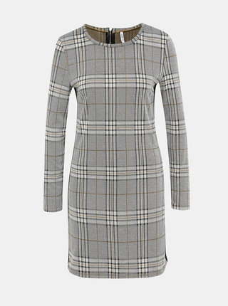 Šedé kostkované šaty Haily´s Cora