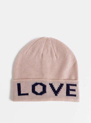 Rúžová čapica Haily´s Love