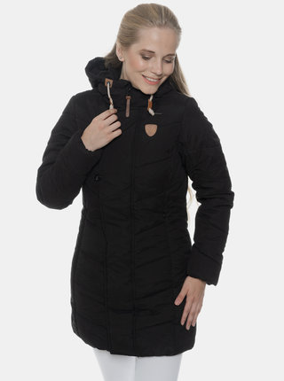Černý dámský kabát SAM 73