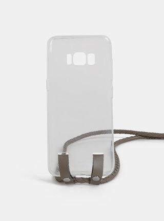 Transparentný obal na Samsung S8 Haily´s Carry