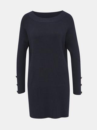 Tmavě modrý dlouhý svetr ONLY Adalyn