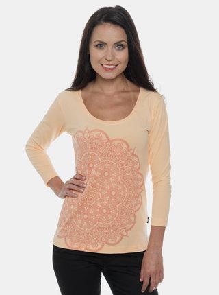 Marhuľové dámske tričko s potlačou SAM 73