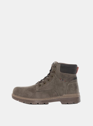 Šedé pánske kotníkové topánky SAM 73