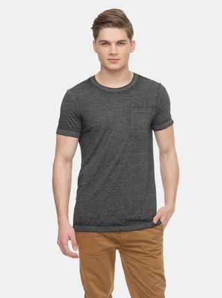 Černé pánské tričko s kapsou Ragwear Bartie