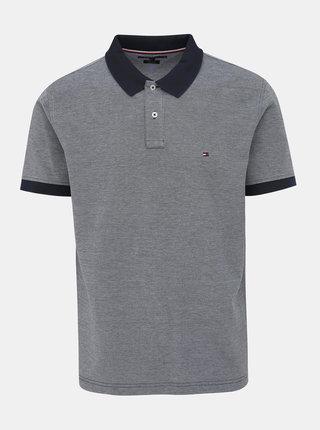 Modré pánské polo tričko Tommy Hilfiger