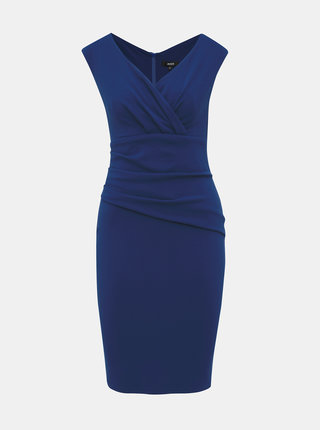 Tmavě modré pouzdrové šaty ZOOT