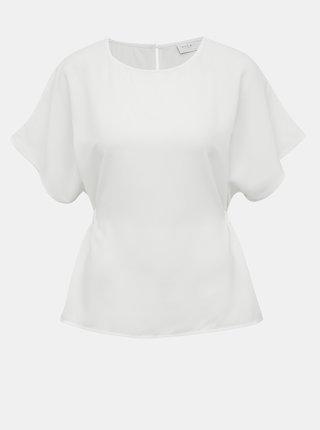 Bílá halenka se zavazováním na zádech VILA Sarina