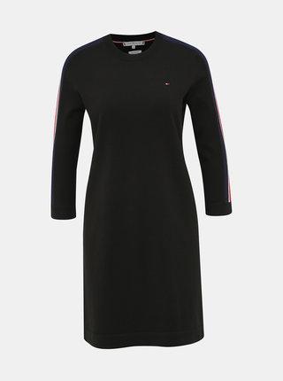 Černé svetrové šaty Tommy Hilfiger Hillory