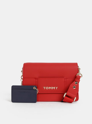 Červená crossbody kabelka Tommy Hilfiger Item
