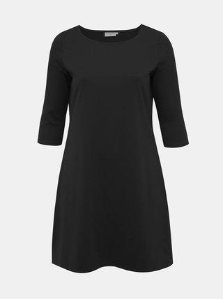 Čierne basic šaty ONLY CARMAKOMA Jennifer
