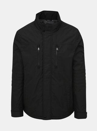 Černá pánská voděodolná zimní bunda Geox Vincit