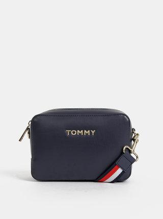 Tmavomodrá crossbody kabelka Tommy Hilfiger Iconic