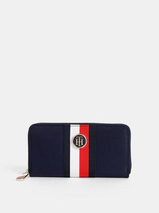 Tmavomodrá dámska peňaženka Tommy Hilfiger Poppy