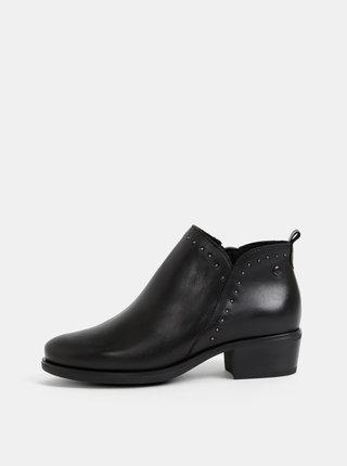 Černé kotníkové boty OJJU
