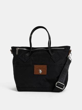 Čierna kabelka U.S. Polo Assn.
