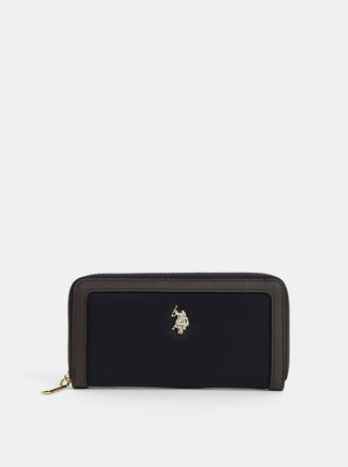 Tmavomodrá peňaženka U.S. Polo Assn.
