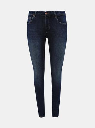 Tmavě modré skinny fit džíny ONLY CARMAKOMA Willy
