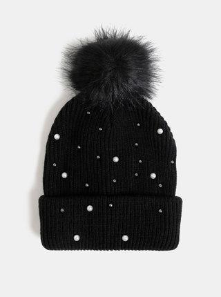 Čierna čapica ONLY Tanya